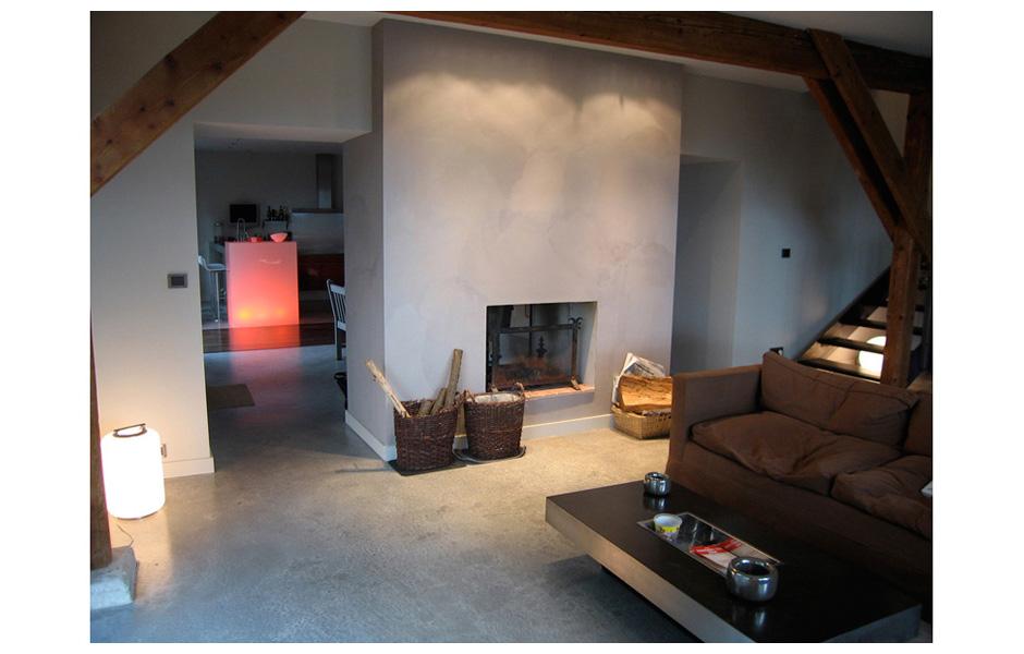 renovation d 39 une maison en briques rouges dovy elmalan transformation d 39 espaces. Black Bedroom Furniture Sets. Home Design Ideas