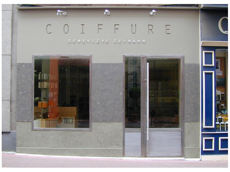 FACADE D\'UN SALON DE COIFFURE- Dovy ELMALAN, Transformations ...